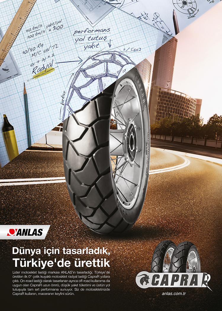 B1 DGS Turkey for Capra Anlas Tyre