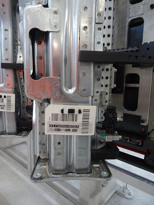 D1 Germark Spain for RFID chassis motor label
