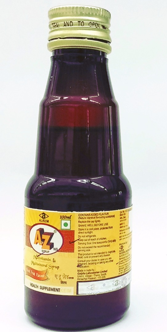 A10 Holostik India for A2Z syrup