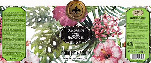B2 Rotary Letterpress - Çiftsan Etiket Turkey for Savon de Royal