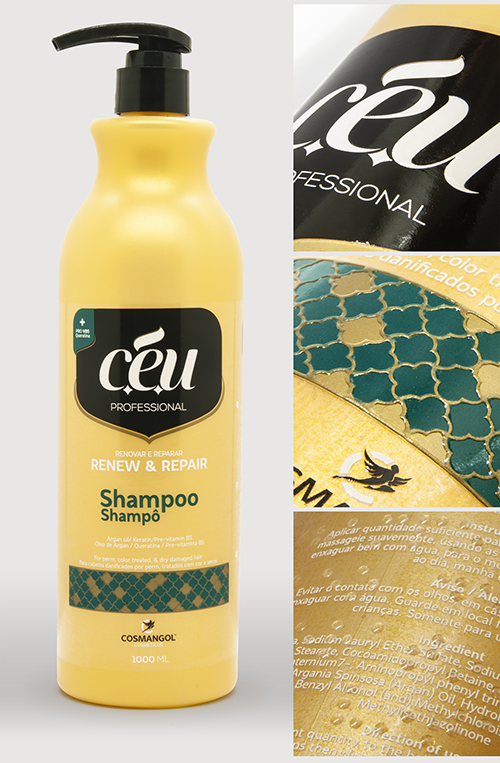 Group B Printing Processes winner Çiftsan Etiket Turkey for  Céu Shampoo