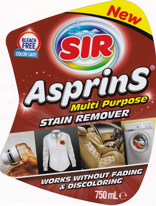 A6 Household - Çiftsan Etiket Turkey for Sir Asprins multi purpose stain remover