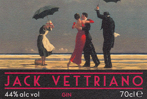 E1 Toner Technology - Amberley Adhesive Labels for Jack Vettriano